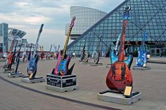 Cleveland is home to the Rock and Roll Hall of Fame and just one reason Ohio is the best state. Fun and Interesting Trivia. OhioWins