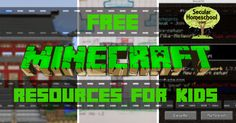 Free Minecraft Resources for Kids