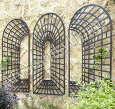 Amazon.com - XL Three Piece Garden Arch Wall Decor -
