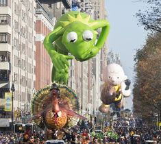 Macy's Thanksgiving Day Parade, NYC