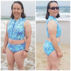 Ladies Stinger Bodysuit PDF Pattern gives you the option to sew an individual and functional garment for sun protection with instruction super easy zipper installation. Complete Outfits, Learn To Sew, Pdf Sewing Patterns, Sun Protection, Super Easy, Bikinis, Swimwear, Bodysuit, Zipper