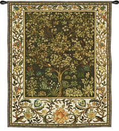 Tree of Life Umber Wall Tapestry at AllPosters.com