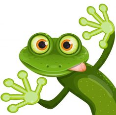 Wallmonkeys WM323350 Frog Peel and Stick Wall Decals (18 in W x 18 in H)