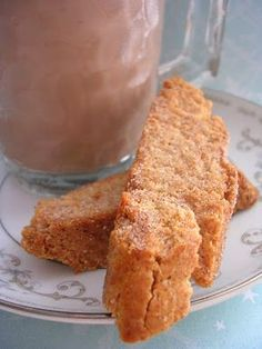 The Busty Baker: Cinnamon Sugar Biscotti (Day 7 of 12 Cookies of Christmas)Will substitute GF flour. Cookie Desserts, Just Desserts, Cookie Recipes, Delicious Desserts, Dessert Recipes, Yummy Food, Italian Cookies, Italian Desserts, Holiday Baking