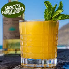 APRICOT MARGARITA  1 1/2 parts Casamigos Reposado Tequila.  1 part fresh apricot puree.  1/4 part fresh lemon juice.  8 to 10 mint leaves.  Ice cubes.   Combine mint and lemon juice and muddle lightly. Add all other ingredients with ice, shake, and strain over ice in rocks glass. Garnish with mint leaves.