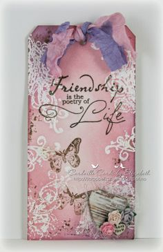 Cardville- Elizabeths Kreative sider: Tag- Friendship is....