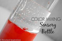 Whenever I need to whip up a quick activity, color mixing is one of my top picks! Color mixing activities are always exciting and a perfect learning opportunity. Today I have a color mixing sensory bottle with three easy ingredients! This color mixing sensory bottle is part of my Discovery Bottles Blog Hop, and thisView Post