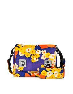 a85029bce3 Carven Cady Orange Flower Print Crossbody Bag  216.00  540.00 Actual  transaction amount