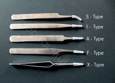 Eyelash Extension Professional Straight & Curved Tweezers (X- Type Tweezers) by iBeautiful. Professional Tweezers specially designed for Eyelash Extensions!. Made of polished stainless steel with a satin finish. High precision with maximum comfort. Length: 120mm long. Non magnetic and lightweight.