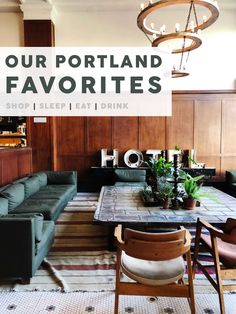 Our Portland Favorites: Where We Shopped, Stayed, Dined and Drank - Emily Henderson Vacation Places In Usa, Cabins In Texas, Portland City, Portland Oregon, Travel Portland, Oregon Travel, Usa Travel, Us Shop, Home Decor