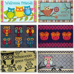 My Owl Barn: Collection: Owl Doormats