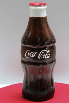 Coke bottle cake by Creative Cakes by Julie, via Flickr. BEST CAKE EVER