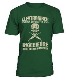 * ELEKTRONIKER LIMITIERTE AUFLAGE *  #gift #idea #shirt #image #funny #job #new #best #top #hot #legal