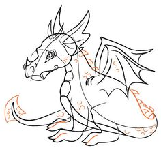 How to Draw a Dragon (with pictures) - wikiHow