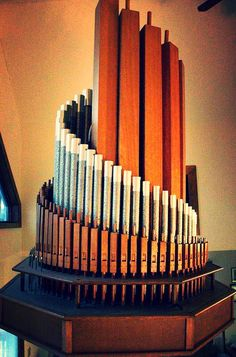 The 2 rank Moller Chandelier Organ, one of only two made by the MP Moller Organ Company of Hagerstown, MD.  Read my blog posting about it here:  http://brianebie.blogspot.com/2014/09/the-m-p-moller-organ-company-chandelier.html