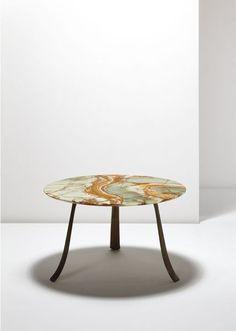 Marmeren tafel van de Italiaanse ontwerper Paolo Buffa (1903-1970) | ELLE Decoration NL
