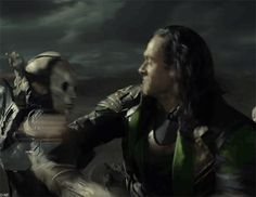 BAMF. I don't care about Thor or Jane, or Odin. The Dark World is all about Loki!