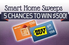 A chance to win a $250 Best Buy gift card