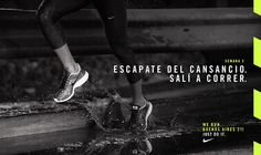 NIKE // WE RUN BUENOS AIRES 21K on Behance