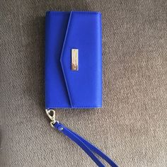 Kate Spade cell phone wristlet Kate Spade phone wristlet. Fits iPhone 6 Plus. kate spade Bags Clutches & Wristlets