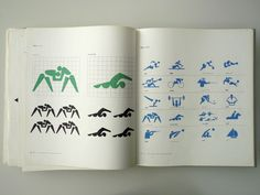 Tokyo 1964 Olympics Event Pictograms