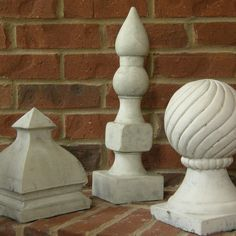Stone Finials  A Sculptural Collection by VetiverHome on Etsy, $300.00