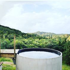 A private pool in your own slice of paradise. rent on Airbnb via the link in our bio. Small Swimming Pools, Small Backyard Pools, Small Pools, Concrete Pool, Precast Concrete, Stock Tank Pool, Round Pool, Dream Pools, Plunge Pool