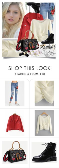 """ROMWE III/5"" by creativity30 ❤ liked on Polyvore featuring romwe"