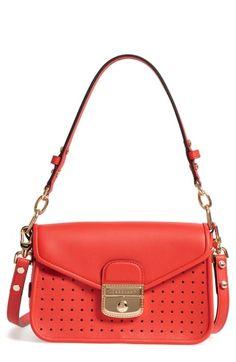 Longchamp Small Mademoie Calfskin Leather Crossbody Bag