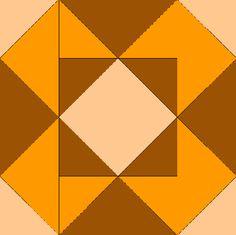 Mosaic Quilt Block Pattern