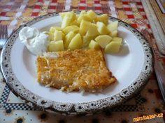 Rybí filé zapečené v sýrovém těstíčku