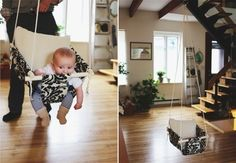 Indoor / Outdoor Kids Swing Diy