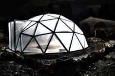 geodesic greenhouse | Homemade geodesic dome greenhouse on Behance