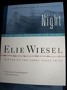 Night by Elie Wiesel...AMAZING book... I've re-read it a few times.. and you may to!!