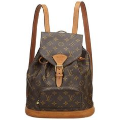 6f9d4dd244f6 Zack Backpack Monogram Macassar Canvas in Men s Travel collections ...
