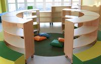 Kids Library Furniture Book Shelf