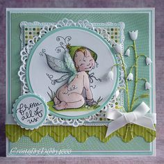 Created by Debby for the Simon Says stamp Challenge Things With Wings 2013.