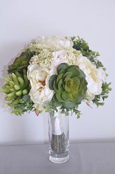 Gold Bouquet, Artificial Wedding Bouquets, Bing Images, Wedding Flowers, Succulents, Rose Gold, Bridal, Beautiful, Ideas