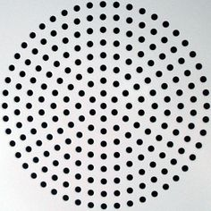 #inspiration #pattern #radial #perforations