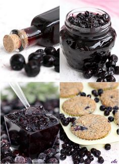 #aronia melanocarpa preserves and juice/syrup, sadly only in Polish. Nice pictures though.