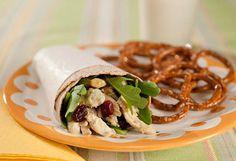Waldorf Salad Wrap - The Best Sandwiches - Oprah.com