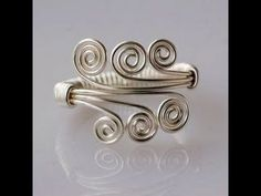 How to Make an Amazing Wire Wrapped Ring - DIY Jewelry Wire Wrap Tutorials ., My Crafts and DIY