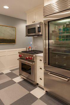 Charming in Como, Saint Paul - traditional - Kitchen - Minneapolis - Fiddlehead Design Group, LLC