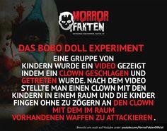 Morgen kommt ein neues Video, zum Thema grausame Experimente . #horrorfakten