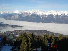 Foto Claudia Costa. Subida para o Patscherkofel - área de esqui.