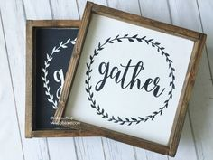 Gather // free printable + 9 more free printable wall art pieces that you won't believe are free!
