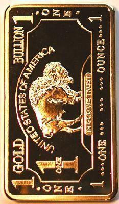 50 One Troy Ounce Gold Plated Buffalo Art Bar Plated With 999 Pure Gold Free S B5001 Zoloto Roga Zolotoj Vek
