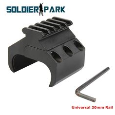 Upgrade Gun Weaver Picatinny Adapter Rail Outdoor Shooting Hunting Shotgun Rifle Laser Sight Scope Tactical Flashlight Mount