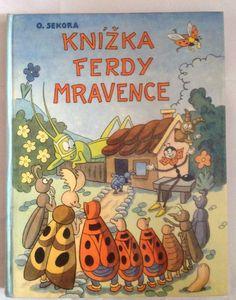 Fred the ant Knizka Ferdy Mravenec by O. Sekora by Mummysvintage, €20.00