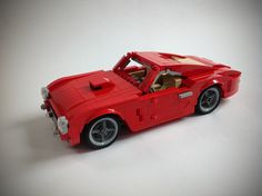 Ferrari 250 GT Berlinetta SWB Lego Auto, Lego Wheels, Lego Vehicles, Awesome Lego, M Photos, Lego Stuff, Lego Moc, Lego Technic, Pontiac Gto